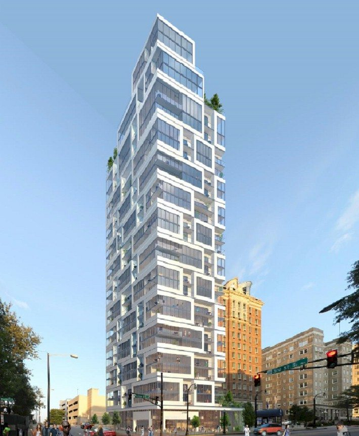 693 peachtree midtown atlanta high rise apartments for